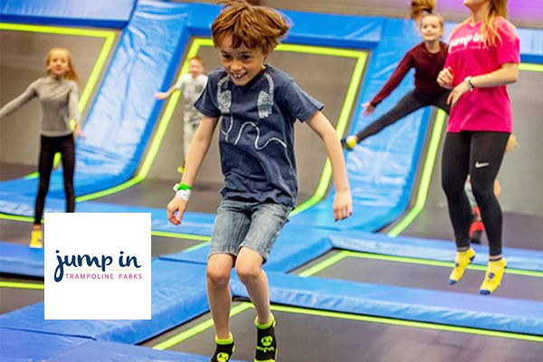 Jump In To Fun at Jump In Trampoline Park