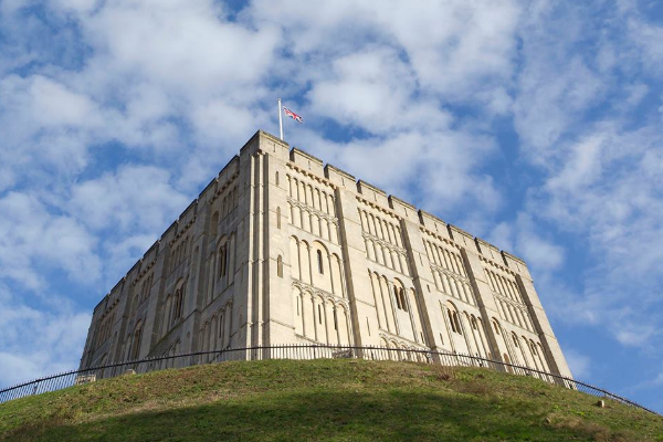 Norwich Castle slide 1
