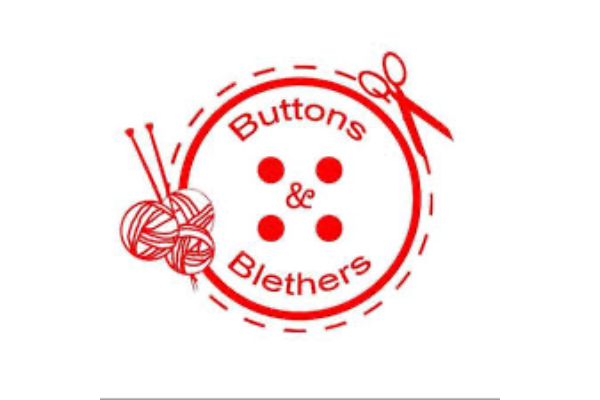 Buttons & Blethers  slide 1